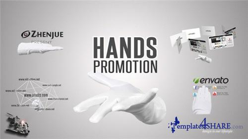 Hands Promotion Pack - After Effects Project (Videohive)