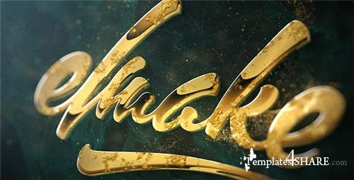 Epic Golden Logo - After Effects Project (Videohive)