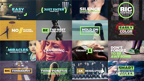 Fresh Titles - Auto-Resizing Animated Typography Text Pack - After Effects Project (Videohive)