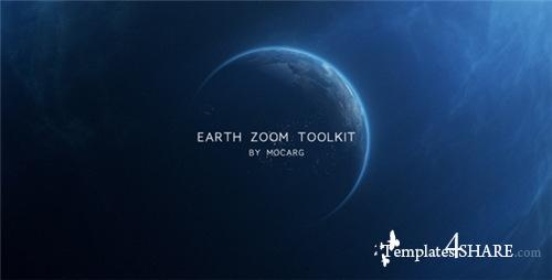 Earth Zoom Toolkit - After Effects Project (Videohive)