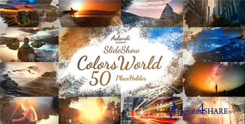 Colors World Ink Slideshow - After Effects Project (Videohive)