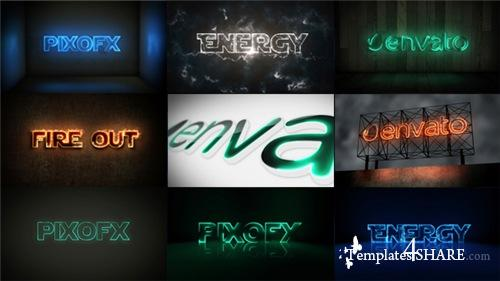 Multi Light Kit - Fire Light Neon Energy Composer - After Effects Project (Videohive)