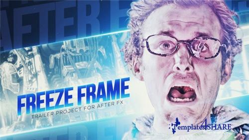 Freeze Frame Trailer - After Effects Project (Videohive)