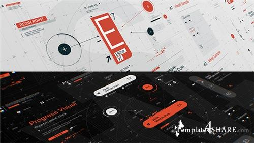 HUD Typo Graphics Pack - After Effects Project (Videohive)