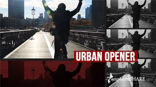 Dynamic Urban Opener - After Effects Project (Videohive)