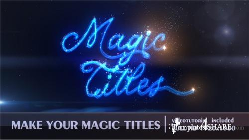 Magic Titles - After Effects Project (Videohive)
