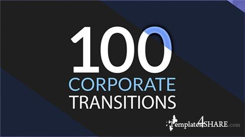 100 Corporate Transitions - After Effects Project (Videohive)