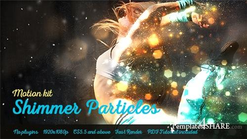 Shimmer Particles Motion Kit - After Effects Project (Videohive)
