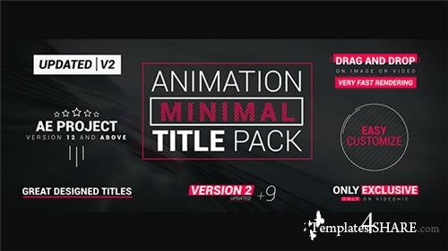 Minimal Title Pack - After Effects Project (Videohive)