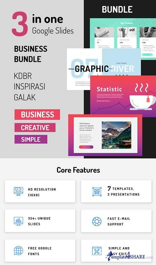 GraphicRiver Bundle - Google Slides 3 in 1