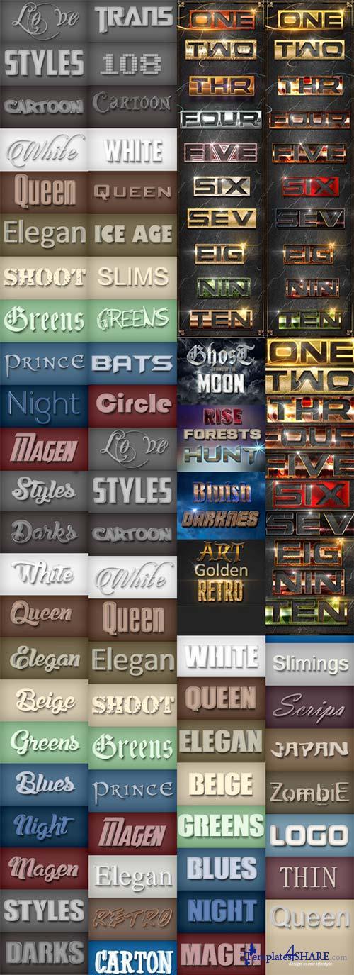 GraphicRiver 60 Bundle Elegant Styles Vol 1.6