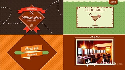Restaurant/Cafe/Bar/Dine Promo - After Effects Project (Videohive)