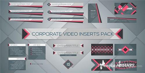 Corporate Video Inserts Pack - After Effects Project (Videohive)