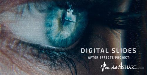 Digital Slides - After Effects Project (Videohive)