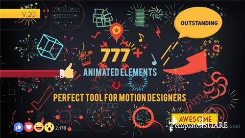 Shape Elements 7826596 - After Effects Project (Videohive)