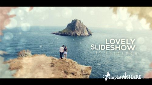 Lovely Ink Parallax Slideshow   Opener - After Effects Project (Videohive)