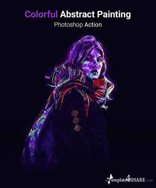 GraphicRiver Colorful Absract Painting - Photoshop Action
