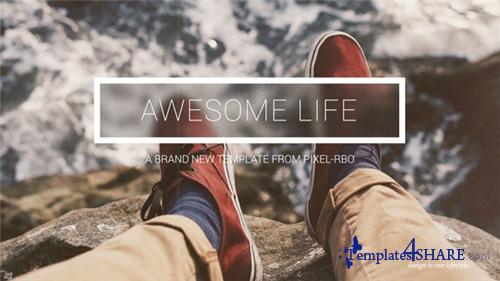 Awesome Life - After Effects Project (Videohive)