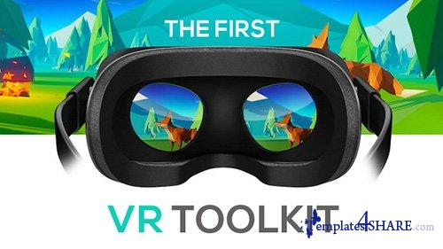 VR Toolkit (converter) - After Effects Project (Videohive)