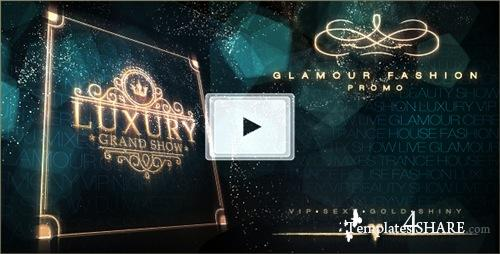 Luxury Grand Show | Glamour Golden Promo - After Effects Project (Videohive)
