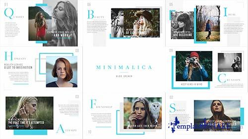 Minimalica // Blog Opener - After Effects Project (Videohive)