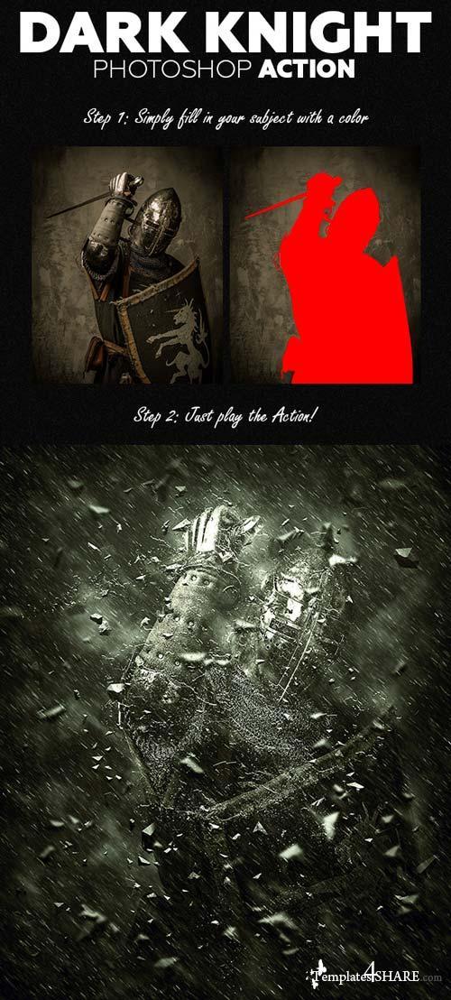 GraphicRiver Dark Knight Photoshop Action