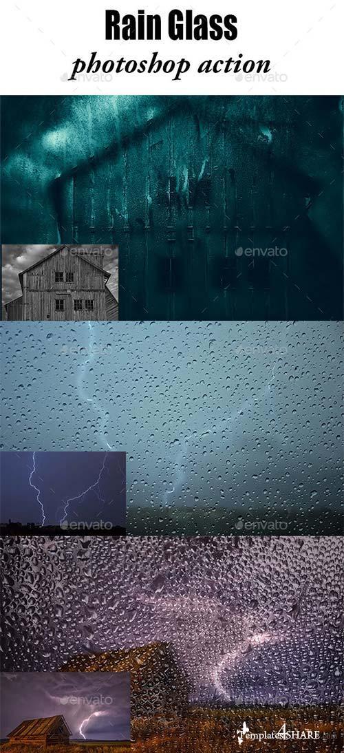 GraphicRiver Rain Effect Phototshop Action