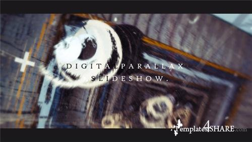 Digital Parallax Slideshow I Opener - After Effects Project (Videohive)