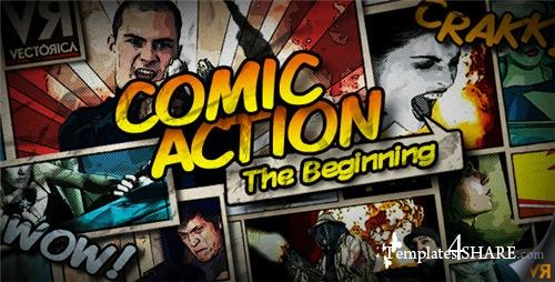 Comic Action - The Beginning - After Effects Project (Videohive)