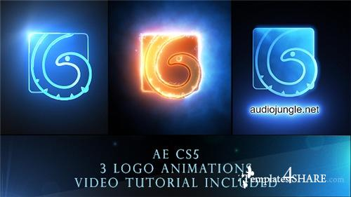 Cinematic Light Logo Reveal Pack - After Effects Project (Videohive)