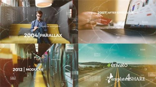 Parallax Timeline Slideshow - After Effects Project (Videohive)