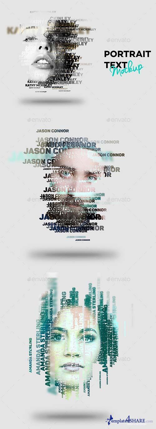 GraphicRiver Text Portrait Effect