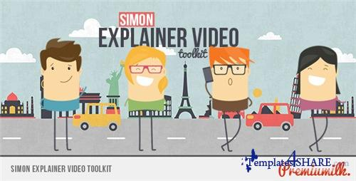 Simon Explainer Video Toolkit - After Effects Project (Videohive)