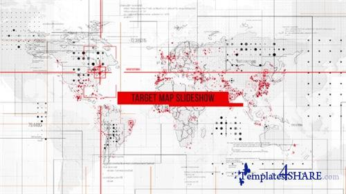 Target Map Slideshow - After Effects Project (Videohive)