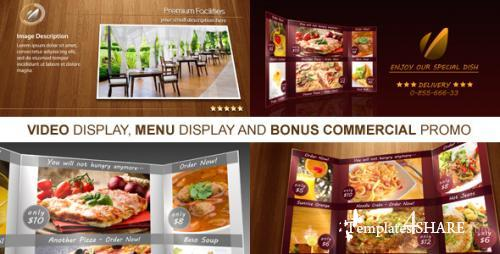New Restaurant Presentation - After Effects Project (Videohive)