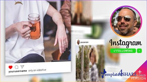 Instagram Promo 3D Gallery - After Effects Project (Videohive)