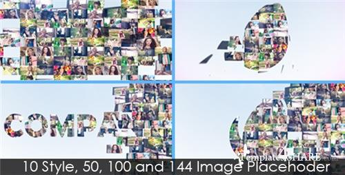 Multi-Image Logo Reveal V.4 (10in1) - After Effects Project (Videohive)