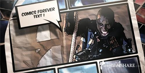 Comics Forever - After Effects Project (Videohive)