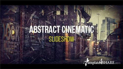 Abstract Cinematic Parallax Opener | Slideshow - After Effects Project (Videohive)
