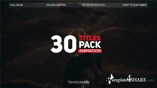 Creative Titles - After Effects Project (Videohive)