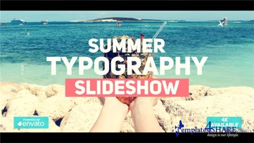 Summer Typography Slideshow - After Effects Project (Videohive)
