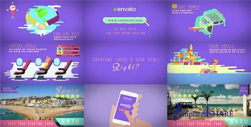 Travel Deals And Discounts - After Effects Project (Videohive)