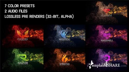 Elegant Soft Particles Logo Reveal - After Effects Project (Videohive)