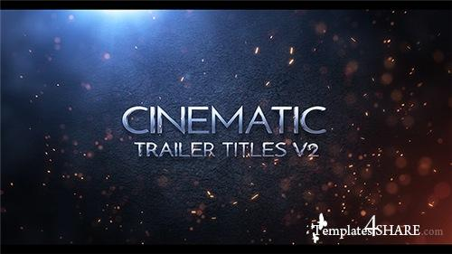 Cinematic Trailer Titles v2 - After Effects Project (Videohive)