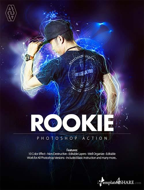 GraphicRiver Rookie Photoshop Action