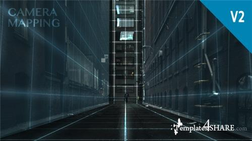 Camera Mapping V2 - After Effects Project (Videohive)