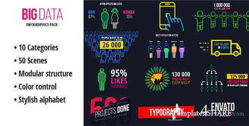 BigData - Ultimate Infographics Pack - After Effects Project (Videohive)