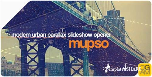 Modern Urban Parallax Slideshow Opener - After Effects Project (Videohive)