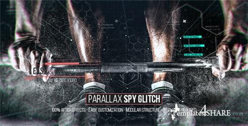 Parallax Spy Glitch - After Effects Project (Videohive)