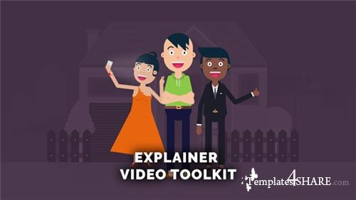 Explainer Video Toolkit 19846270 - After Effects Project (Videohive)